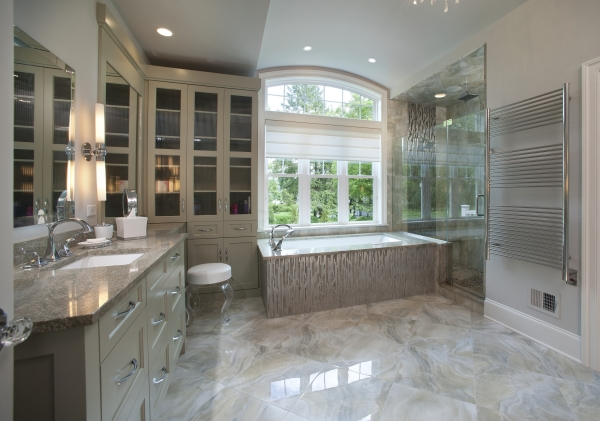 Wilmington -- Large Master Bath